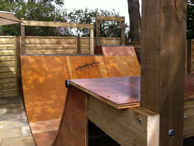 Skateboard And Scooter Ramps   Half Pipes  Quater Pipes   Skateboard Garden  Ramps